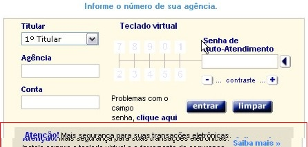 Teclado Virtual Falso