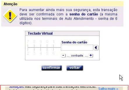 Segundo Teclado Virtual Falso